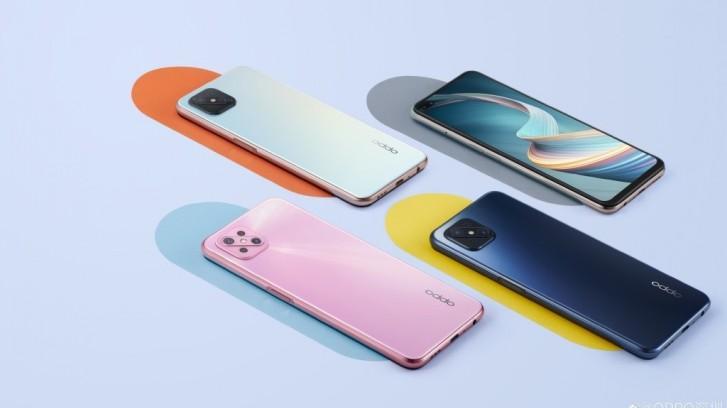 Oppo A92s出现在官方图像中揭示了颜色的选择