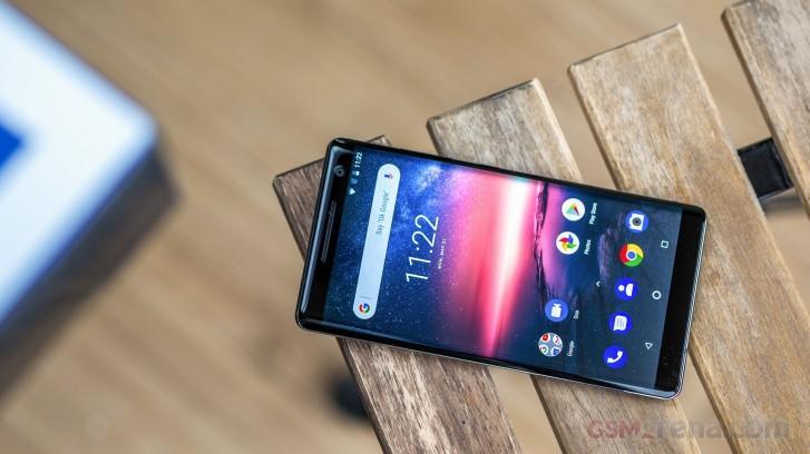 诺基亚8 Sirocco收到带有4月安全补丁的Android 10更新