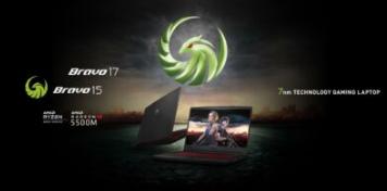 微星推出搭载AMD 4000 H系列移动CPU的Bravo 15