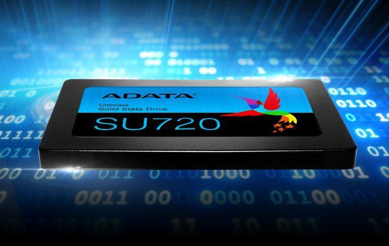 Adata宣布推出新款Ultimate SU720 SSD