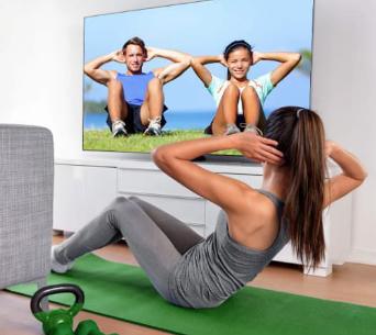 我们可以将智能电视当做私人健身教练吗