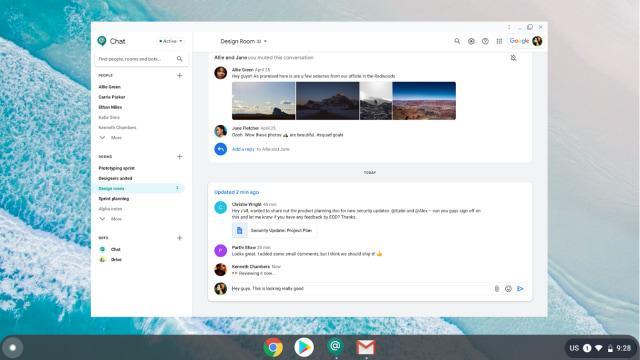 Google更安全的多平台聊天应用需要试用Chrome