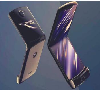 摩托罗拉Razr 2将具有更大的内部和外部显示
