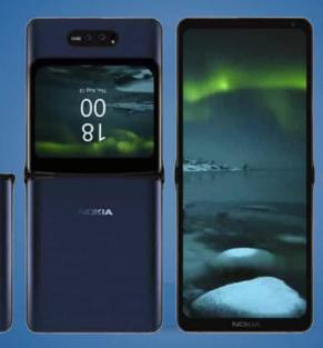诺基亚还希望制造具有柔性显示屏的智能手机