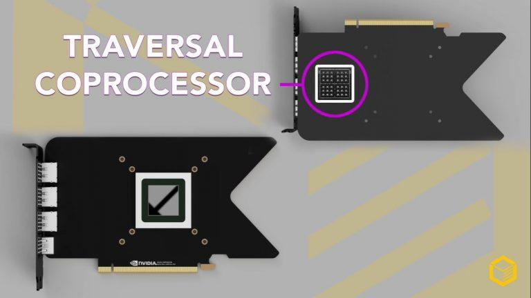 英伟达RTX 3000 GPU可以利用光线追踪遍历协处理器