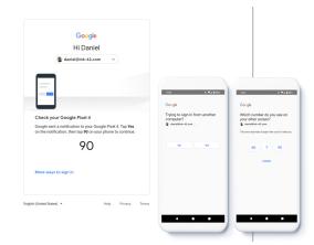 Google将默认使用电话通知进行两因素登录