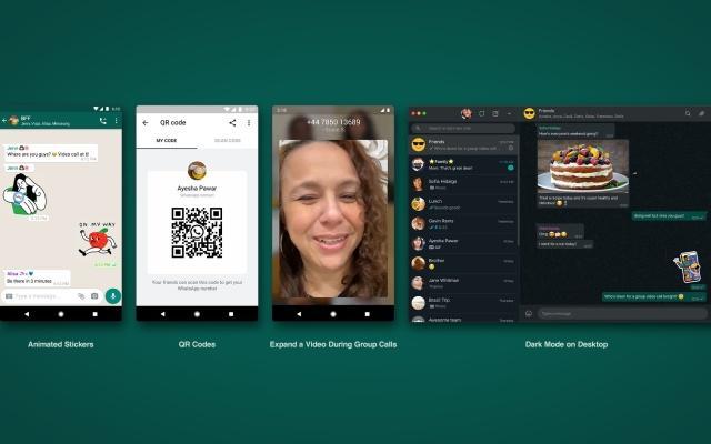 WhatsApp允许您添加带有QR码的新联系人
