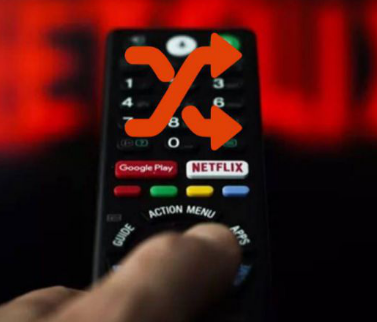 Netflix测试了应用中的随机播放按钮