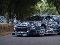 福特的新型混合动力世界拉力赛车