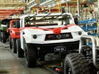 新型民用越野车东风猛狮M50已在中国投产