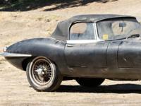 1965年仅8,000英里的Jaguar E-Type即将拍卖