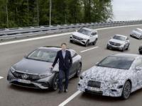 到2025年每辆梅赛德斯汽车都将拥有全电动版本