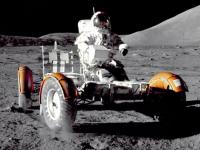 50年前第一辆登上月球的汽车